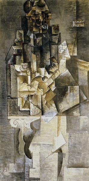 «Человек с гитарой», Пабло Пикассо