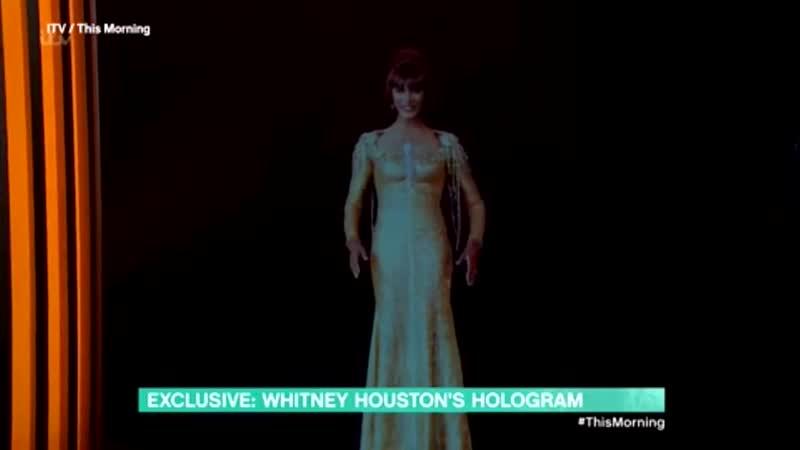 Whitney Houston's hologram performing Greatest Love