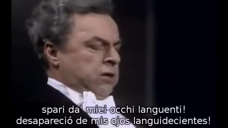 Boris Christoff Ella giammai m'amò de Don Carlo de Verdi conductor Bruno Amaducci Lugano 1976