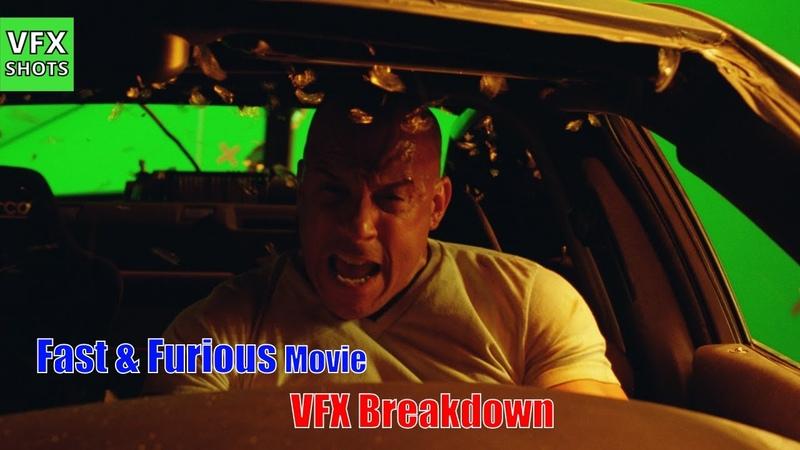 Fast And Furious Making | VFX Breakdown | Cars, Blast, Race | Paul walker , Vin Diesel | VFX SHOTS