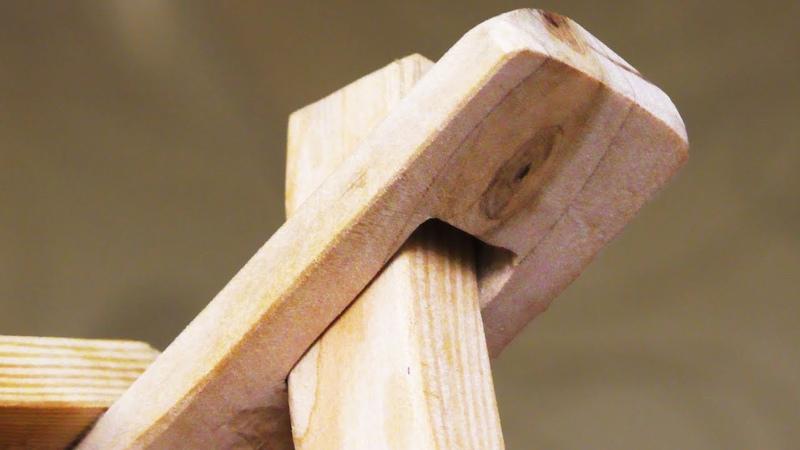 Крутая идея Не выбрасывайте обрезки древесины