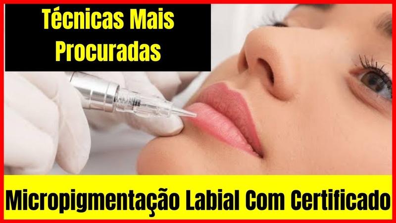 Micropigmentação Labial Famosas Curso De Micropigmentação Labial