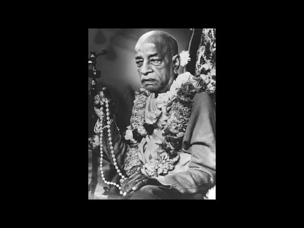 Srila Prabhupada Chanting the Hare Krishna Maha Mantra Japa