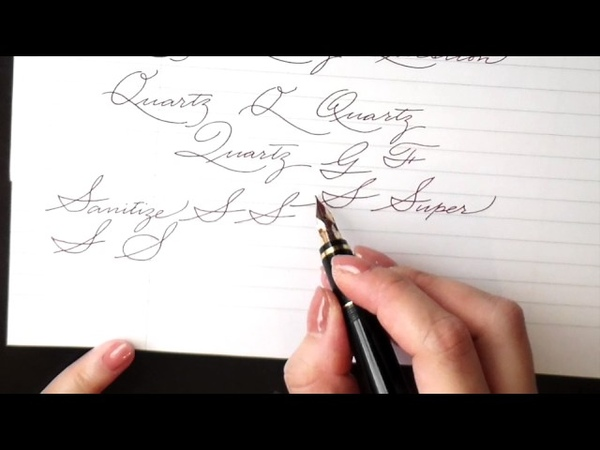 Write cursive with Schin: O, P, Q, R, S, T