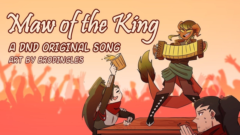 Maw of the King An Original Dungeons and Dragons Inspired Song