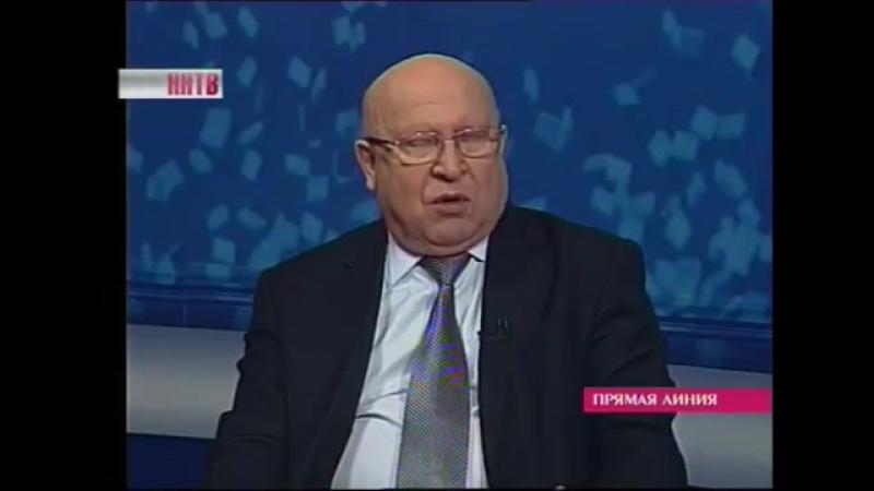Губернатор Нижегородской области В П Шанцев о НГИЭУ 24 03 2016 телеканал ННТВ