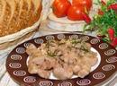 Пикантное мясо в винном соусе