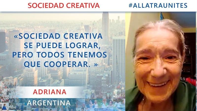 Allatra Sociedad Creativa se puede lograr pero todos tenemos que cooperar Entrevista 8 Andriana