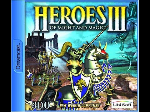 Heroes of Might and Magic III Sega Dreamcast Unreleased