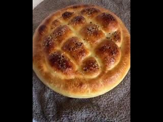 Хлеб Домашний (ингредиенты в описании видео)