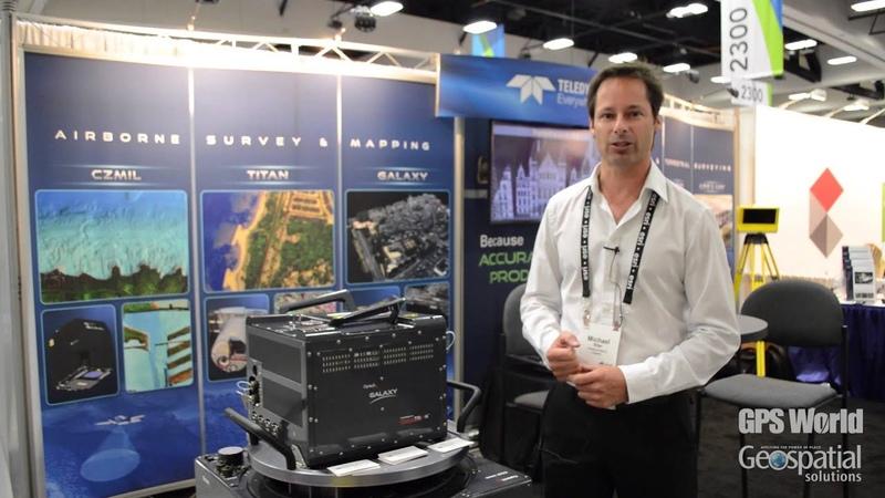 Esri UC Teledyne Optech Showcases Galaxy Sensor