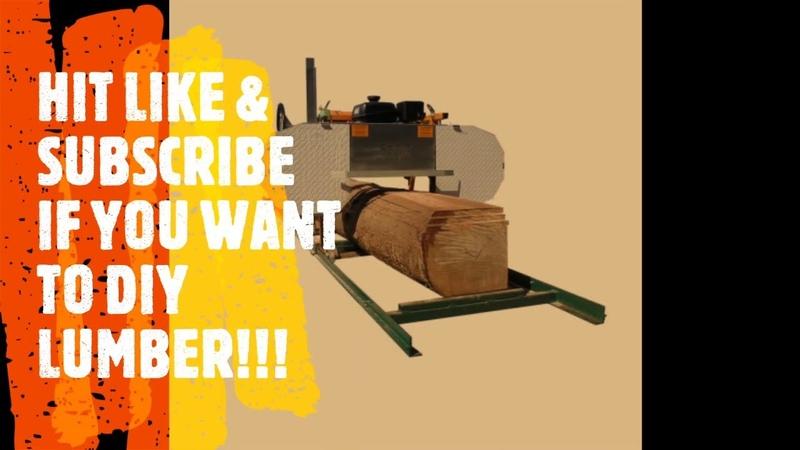 Best DIY Lumber SAWMILL 2020 (SMG little 9.5 Champion)