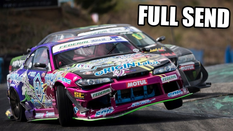 AMAZING DRIFTING SKILLS Close tandems wall taps reverse entries 360s full send jumps and more