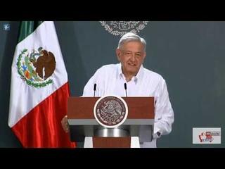 #Conferencia Presidente AMLO 3 Junio 2020 Campeche México Tren Maya😷😷😷
