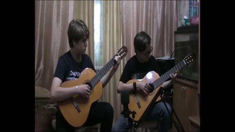 Дуэт Добрынины Саша и Дима The Beatles Yesterday
