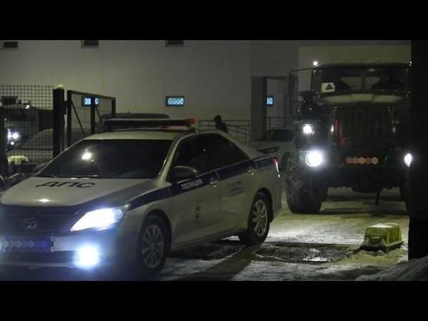 Отряд самарских полицейских отправился в командировку