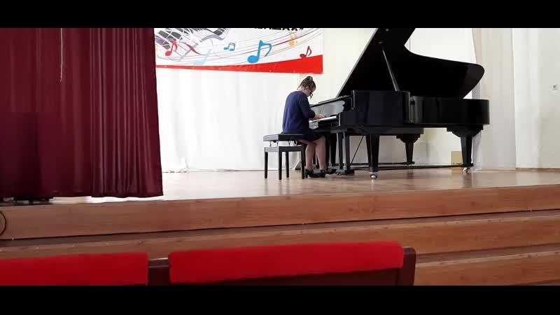 Караваева Наталия П Чайковский Сладкая грёза из Детского альбома