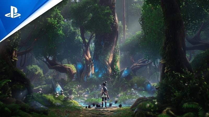 Kena Bridge of Spirits Announcement Trailer PS5