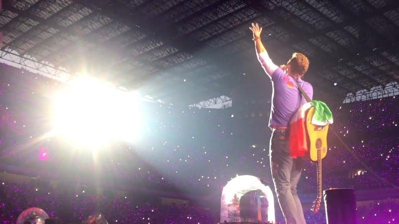 Coldplay Live Milano Full Concert Multicam 3 Luglio 2017 Full HD 60 fps