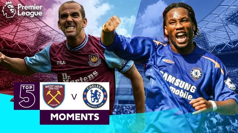 West Ham vs Chelsea Top 5 Premier League Moments Di Canio Drogba Lampard