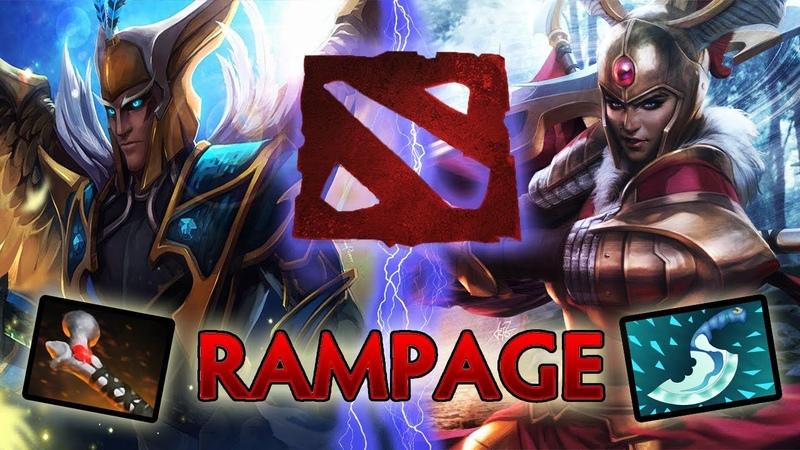 Обмен Рампагами (Легионка и Скаймаг)