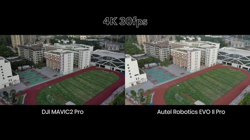 Autel Robotics EVO II Pro VS DJI Mavic2 Pro - сравнение при цифровом увеличении кадра на 500
