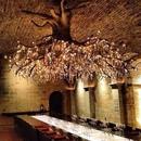 Невероятный светильник, имитирующий дерево со светлячками