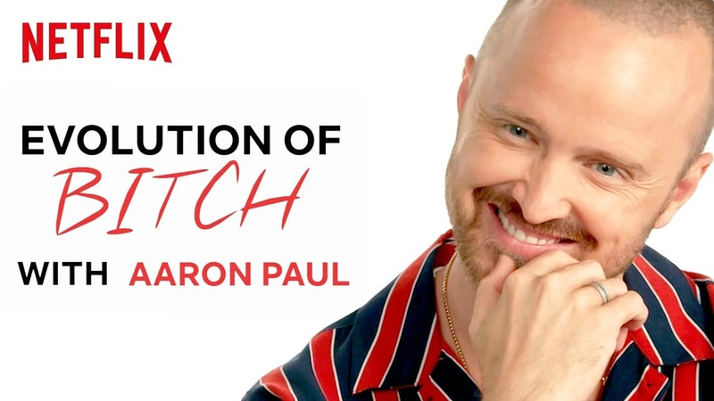 The History of Jesse Saying Bitch in Breaking Bad with Aaron Paul Netflix