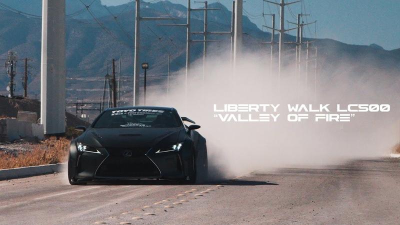 Jaycray's Liberty Walk Lexus LC500 VALLEY OF FIRE HALCYON 4K