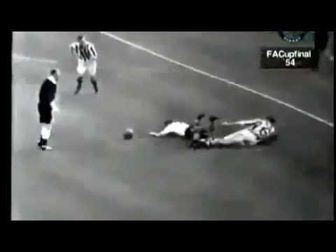 Tom Finney vs West Bromwich Albion 1954 FA Cup final
