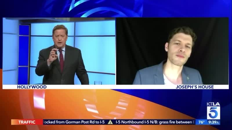 Joseph Morgan on KTLA 5 News Brave New World