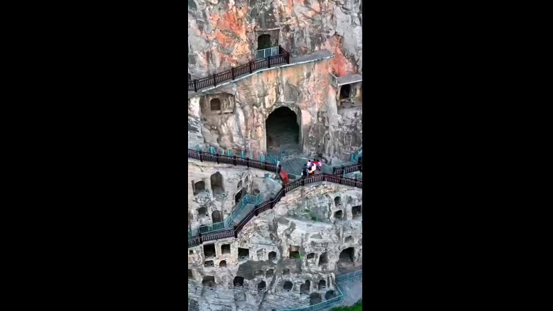 Longmen Grottoes is located in Luoyang City Henan Province China It is a 5A scenic spot and a world cultural heritage