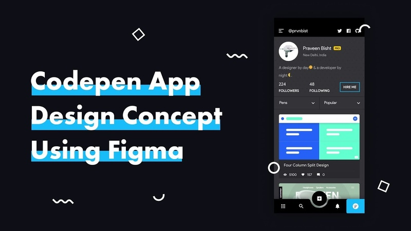Design Codepen App Using Figma   Speed Art