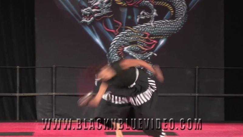 XMA Katana Caitlin Dechelle XMA Sword Kata 2014 Diamond Nationals Karate Tournament