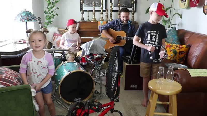 Colt Clark and the Quarantine Kids play Yellow Submarine