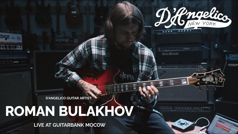 D'Angelico Roman Bulakhov Thoughts In The Car Live @ GUITARBANK Moscow