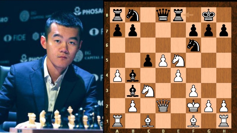 Amazing Chess Game Ding Liren vs Fabiano Caruana World Chess Candidates 2020 Rd3