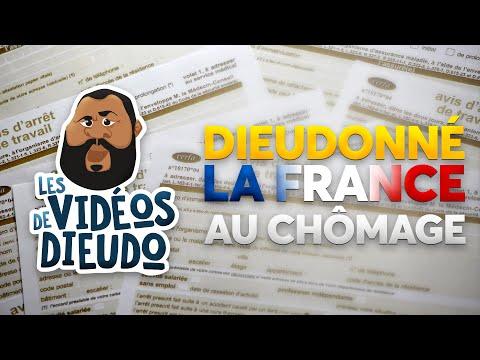 Dieudonné La France au chômage