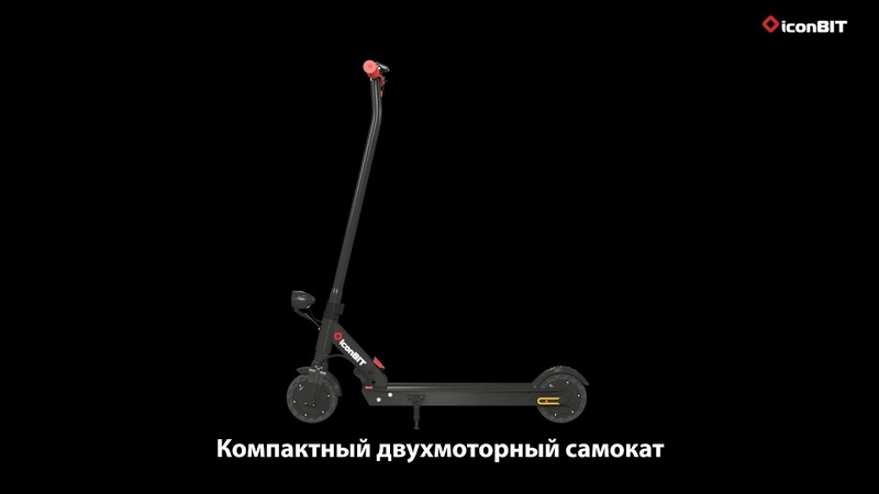 IconBIT Kick Scooter STREET DUO RUS