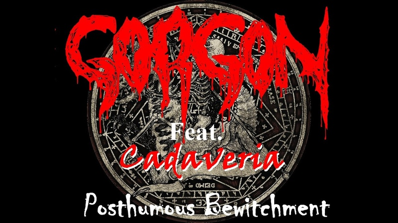 GORGON France Black Metal feat Cadaveria Posthumous Bewitchment