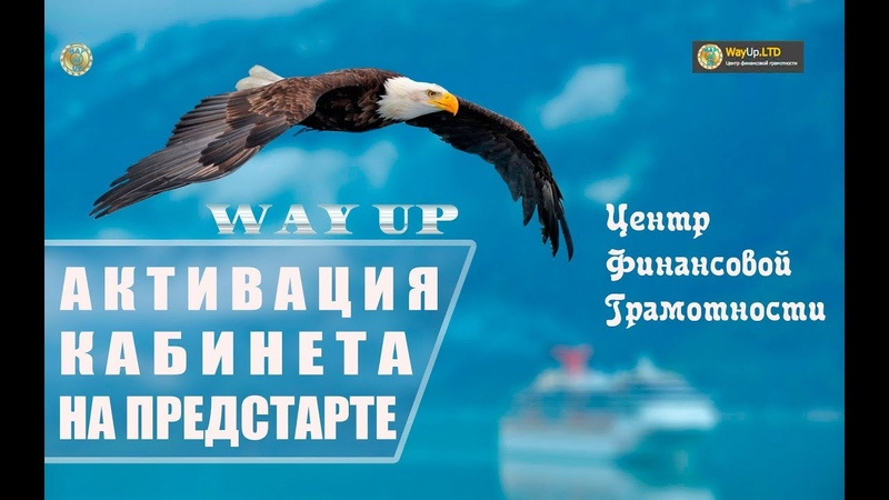 WAY UP | Активация в предстарте