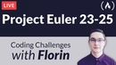 Project Euler Challenges 23-25 - Coding Challenges with Florin