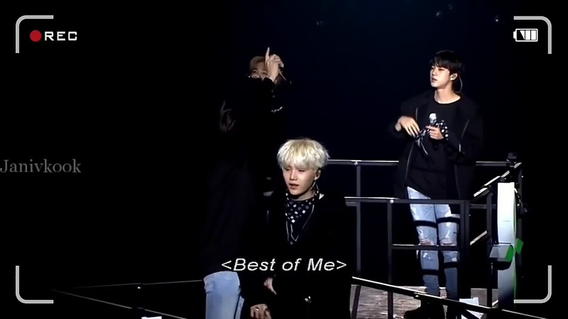 (BTS MEMORIES OF 2017) Live Best Of Me - BTS (방탄소년단)