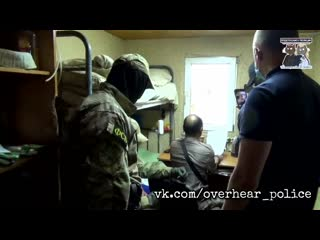 Кадры задержания членов банд Басаева и Хаттаба