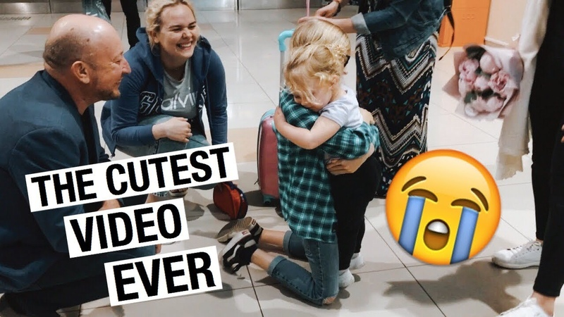 I HAVEN'T SEEN MY FAMILY FOR A YEAR I THE CUTEST VIDEO EVER I RUSSIA VLOG I Julia Hunt