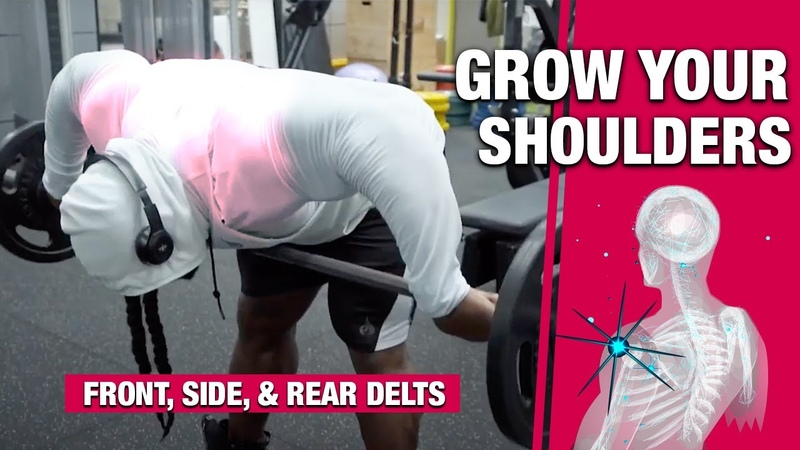 GROW YOUR SHOULDERS Front Side Rear Delts