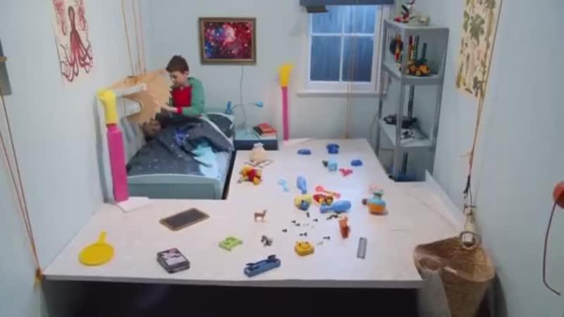 Когда лень убирать игрушки