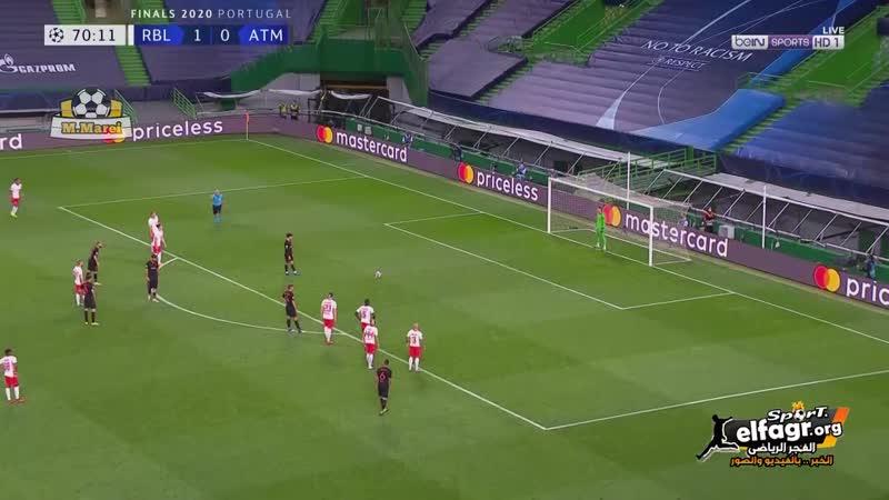 أهداف مباراة لايبزيج 2 × 1 أتلتيكو مدريد ربع نهائي دوري أبطال أوروبا