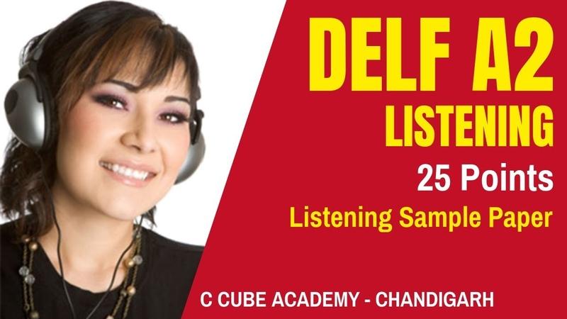 DELF A2 Comprehension Orale Listening Practice Test Online DELF A2 Listening Exam Sample Paper