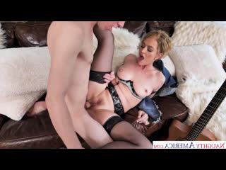 SeducedByACougar Eve Laurence WILL TEACH A SEX LESSON TO THE GUITAR TEACHER Naughty America Seduced By A Cougar Busty MILF